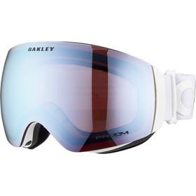 Oakley Flight Deck XM Maschera Donna, factory pilot whiteout/prizm snow sapphire iridium